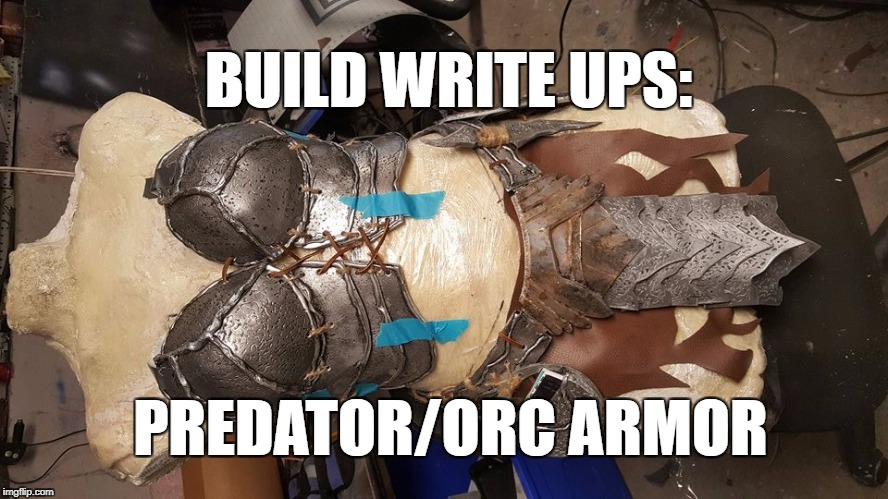 Build Write Up: Predator/Orc armor