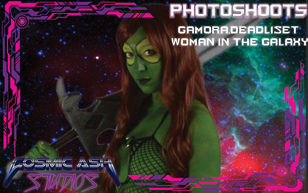 Photoshoots: Gamora, Deadliest woman in The galaxy
